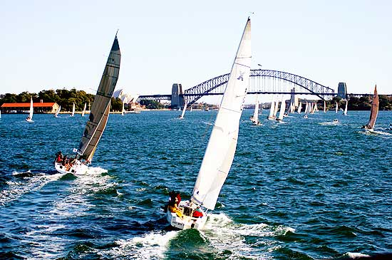 Yachting on Sydney Harbour